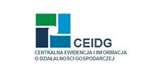 CEIDG Działalność gospodarcza